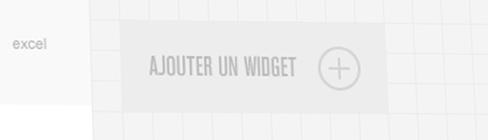 INFINE intranet - ajouter un widget