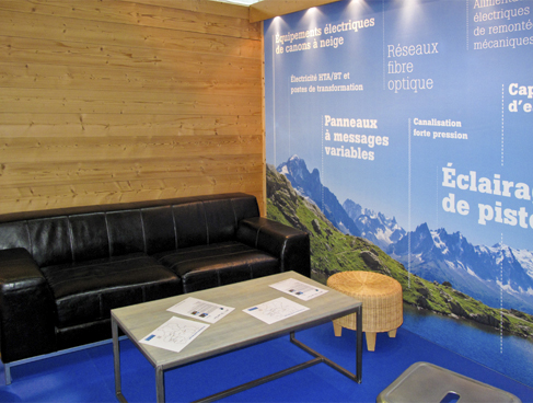 Serfim - Stand pour Mountain Planet