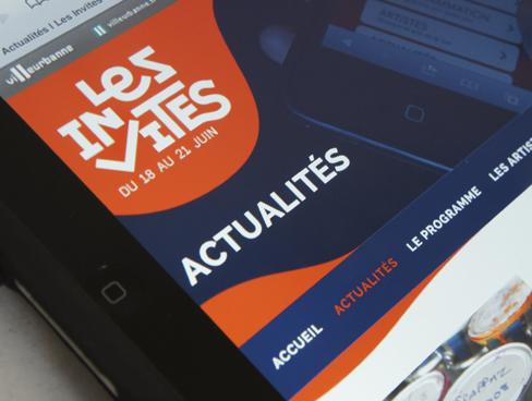 Site Internet – Festival Les Invites