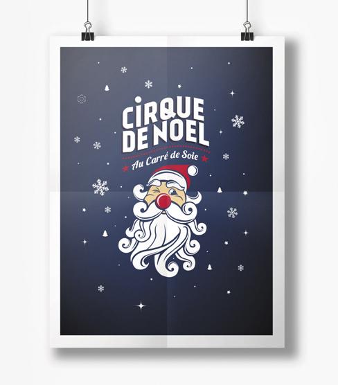 Cirque Imagine – Visuel du Cirque de Noël
