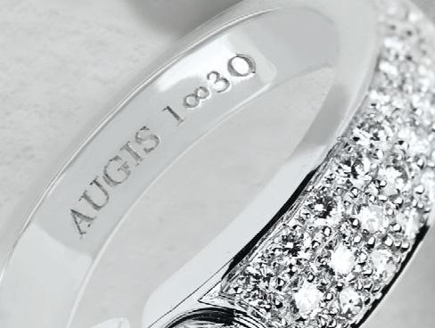 """Augis 1830 – Gamme de bijou """"Infini"""""""