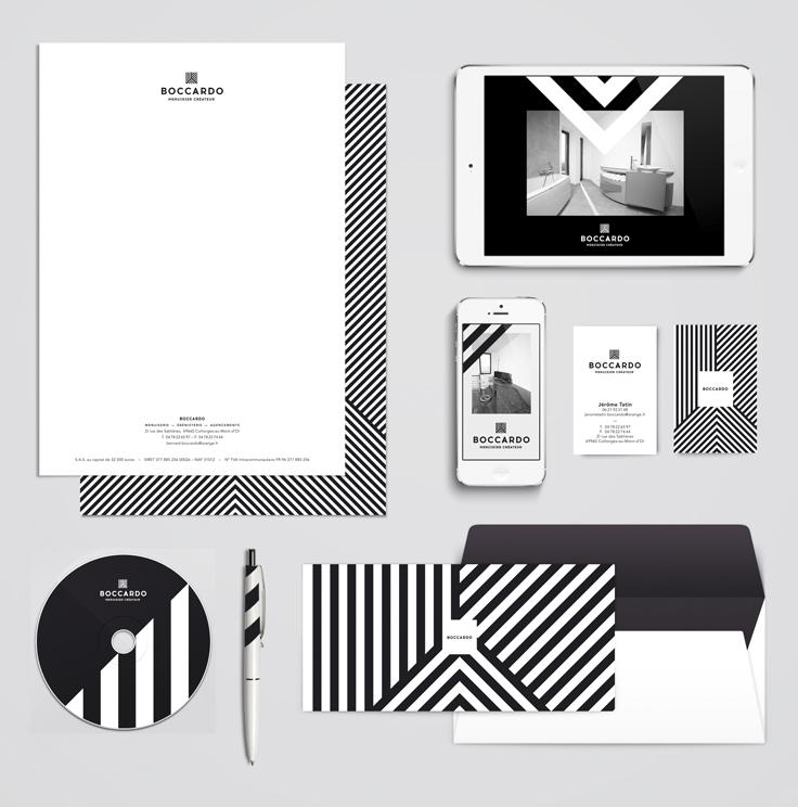 BOCCARDO — Identité visuelle