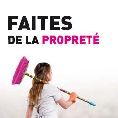 Grand Lyon – Faites de la propreté