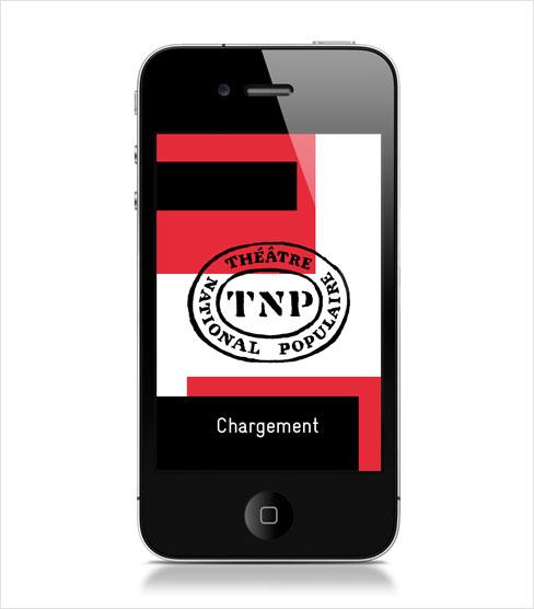 TNP app - chargement