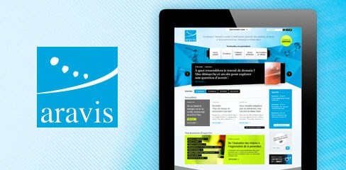Aravis – Refonte du site internet