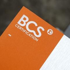 BCS CERTIFICATION