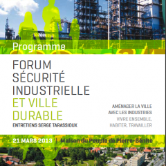 Ville de Pierre-Bénite – Forum Sécurité Industrielle 2013