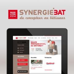 SYNERGIEBAT – Site Internet