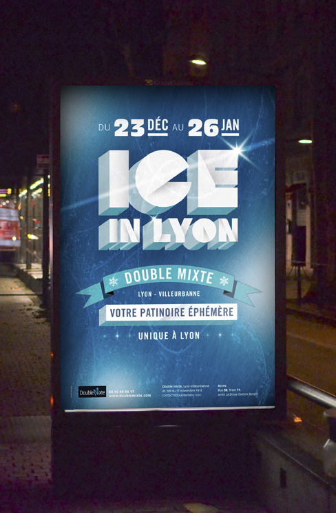 Identité visuelle Ice in Lyon