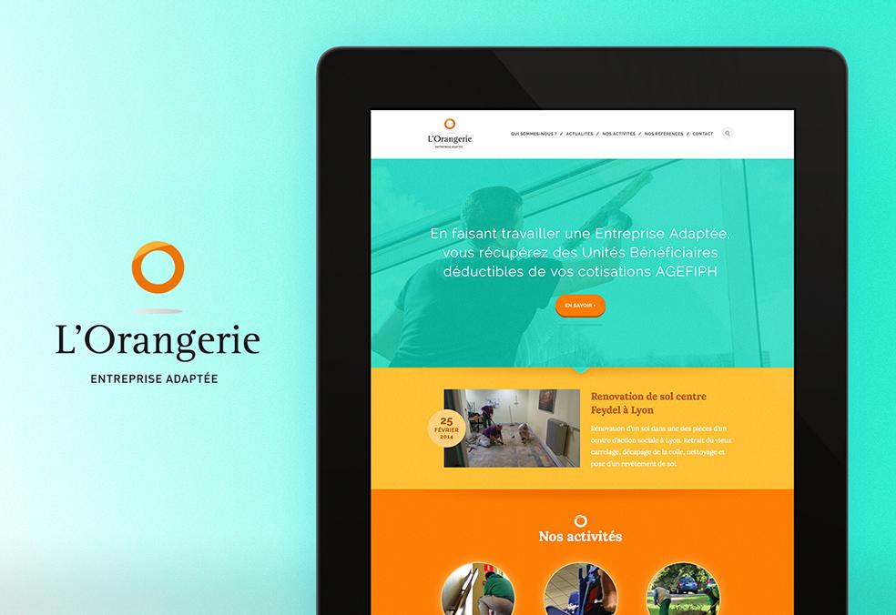 Orangerie : Site Internet