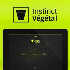 Instinct Végétal : Site Internet