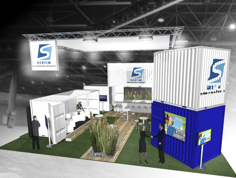 Serfim - Stand pour Pollutec