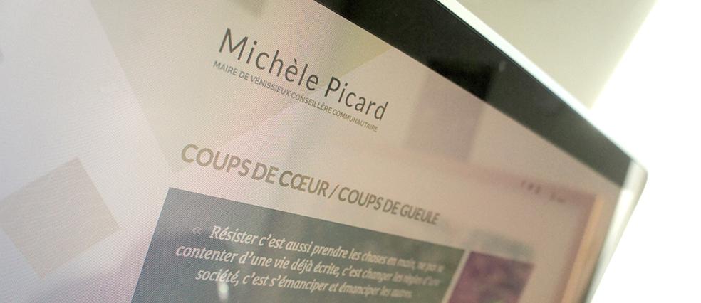 Michèle Picard - le site