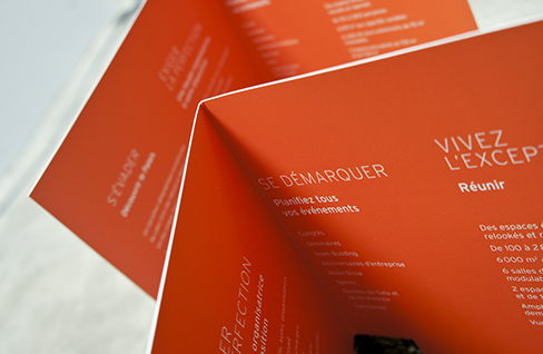 PALAIS DES CONGRÈS SUD RHÔNE ALPES - Outil de communication