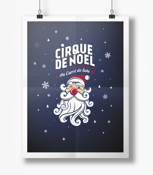 Cirque Imagine – Visuel du Cirque de Noël