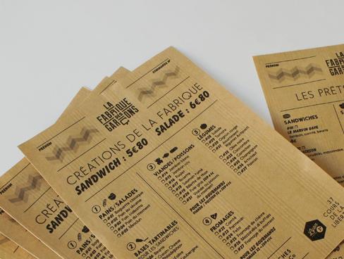 Identité de marque – La Fabrique des Garçons