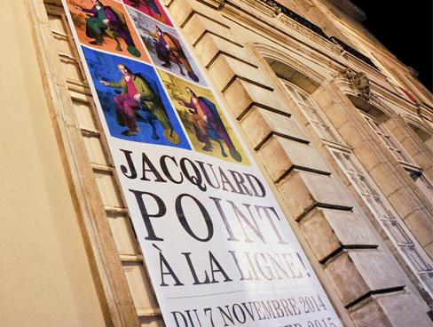 MUSÉE DES TISSUS ET DES ARTS DÉCORATIFS - Visuel de l'exposition Jacquard