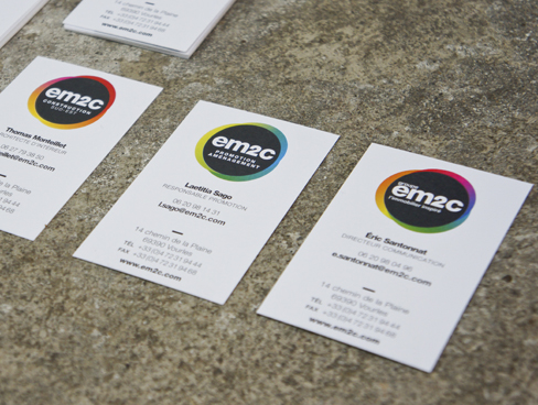 EM2C, Nouveau logo, nouvelle charte graphique