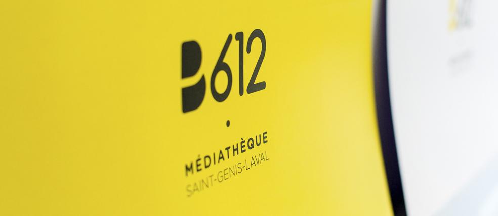 Ville de Saint-Genis-Laval — Charte graphique & Logo pour la médiathèque